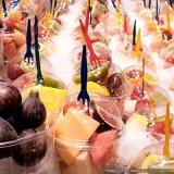 comprar frutas cortadas em potes Vila Morumbi