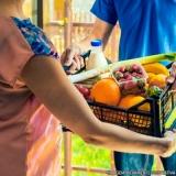 cotação de entrega de hortifruti em domicílio Chácara Itaim