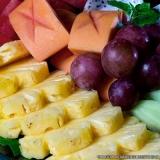 frutas descascadas e cortadas Vila Andrade
