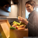 serviço de delivery verduras Jardim Viana