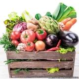 delivery de cesta de verduras
